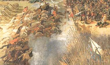 Cavalry charge - Kircholm 1605