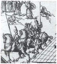 Polish cavalry in 1567