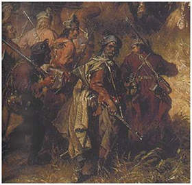 Polish infantry at Chocim 1621