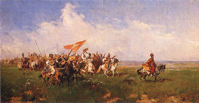 Cossacks on the Steppes